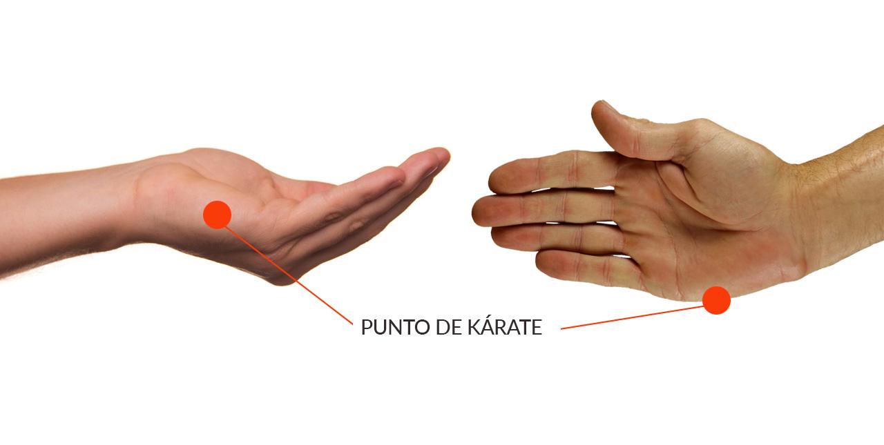Punto de karate de EFT. Método Desparejados para superar una ruptura amorosa